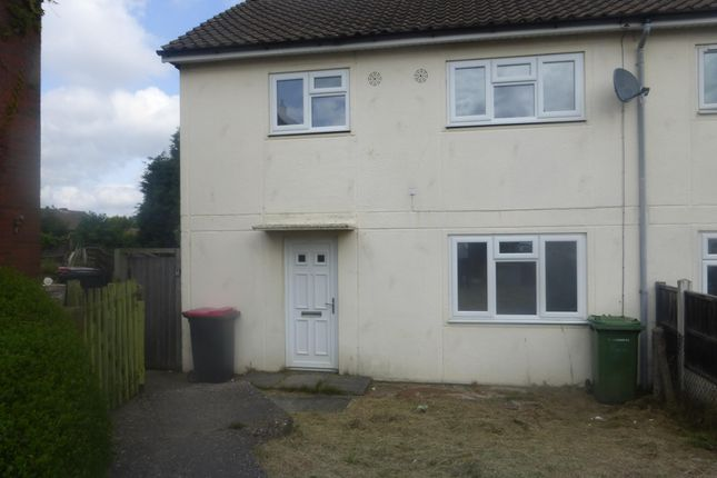 Thumbnail Semi-detached house to rent in Queens Way, Dordon, Tamworth
