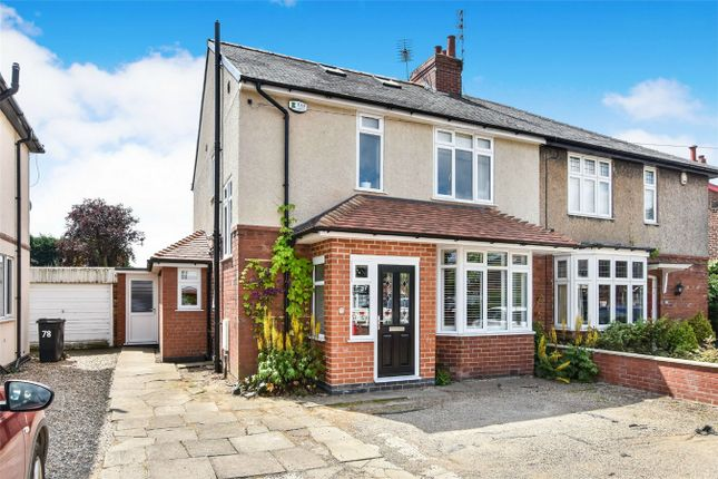 Thumbnail Semi-detached house for sale in Wetherby Road, Acomb, York