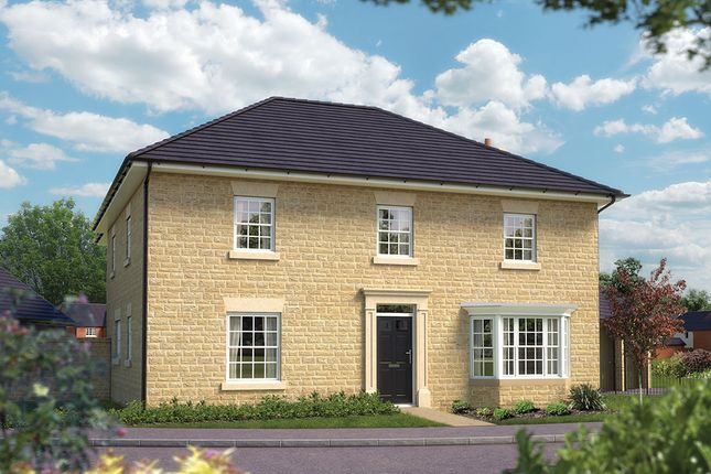 "Thumbnail Detached house for sale in ""The Ascot"" at Towcester Road, Silverstone, Towcester"