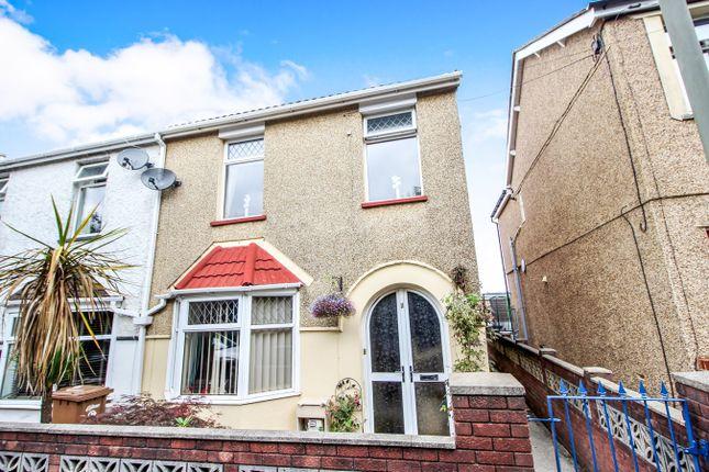 Thumbnail End terrace house for sale in Brynhoward Terrace, Oakdale, Blackwood