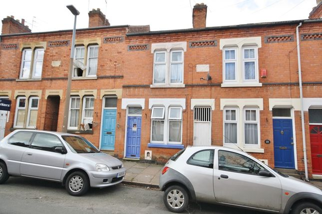 Thumbnail Terraced house to rent in Cradock Road, Leicester LE2, Claredon Park
