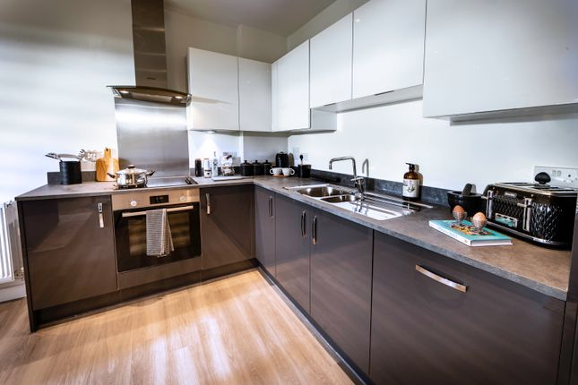 Thumbnail Flat for sale in Augustine Court, Brumwell Avenue, Trinity Walk, Woolwich