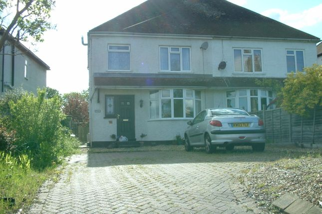 Thumbnail Semi-detached house to rent in Newton Road, Bletchley, Milton Keynes
