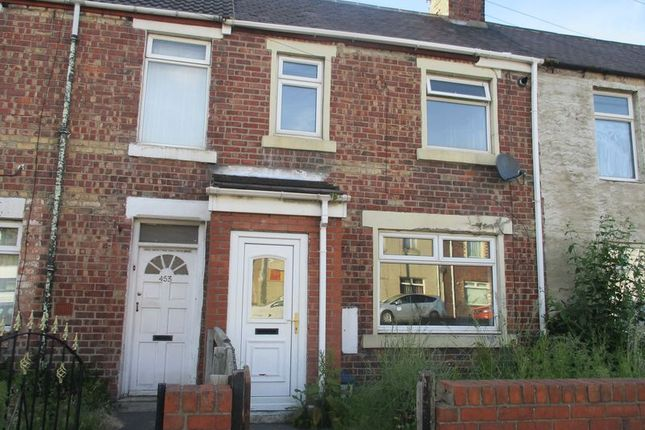 Thumbnail Terraced house to rent in Cowpen Road, Blyth