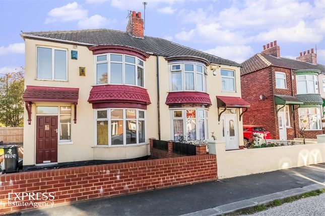 Thumbnail Semi-detached house for sale in Bailey Grove, Middlesbrough, North Yorkshire