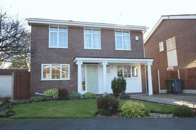 Thumbnail Detached house for sale in Martin Close, Wirral, Merseyside