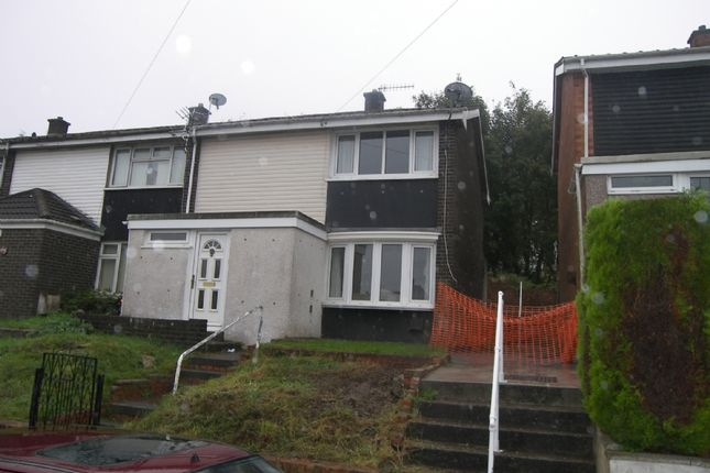 Thumbnail Semi-detached house to rent in Wheatley Road, Neath