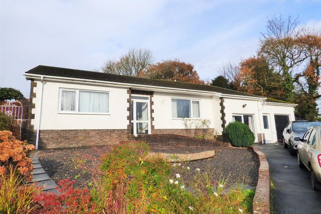 Thumbnail Bungalow for sale in Pontfaen, Llanddarog, Carmarthen