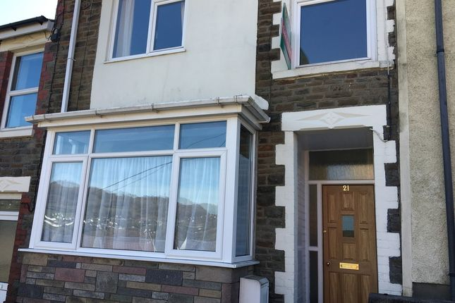 Thumbnail Terraced house to rent in 21 Stow Hill, Treforest, Pontypridd