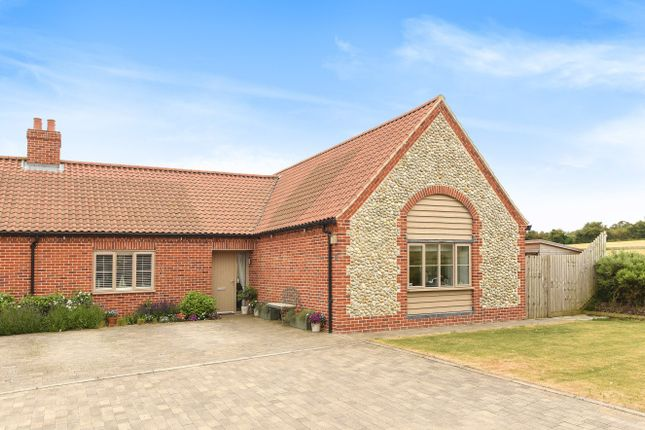 Thumbnail Semi-detached bungalow for sale in Harbour Way, Blakeney, Holt