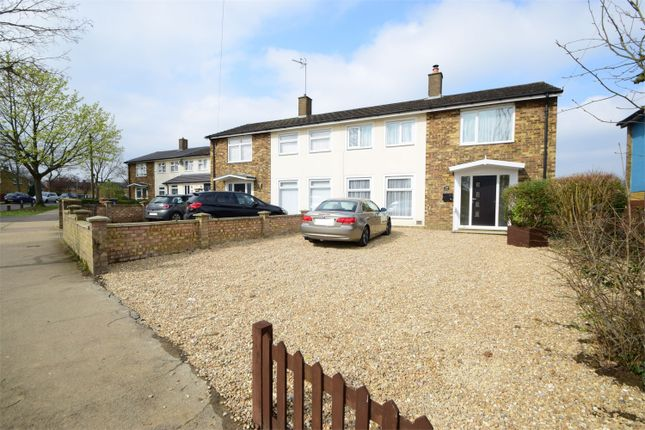 Thumbnail Semi-detached house for sale in Bandley Rise, South Stevenage, Hertfordshire