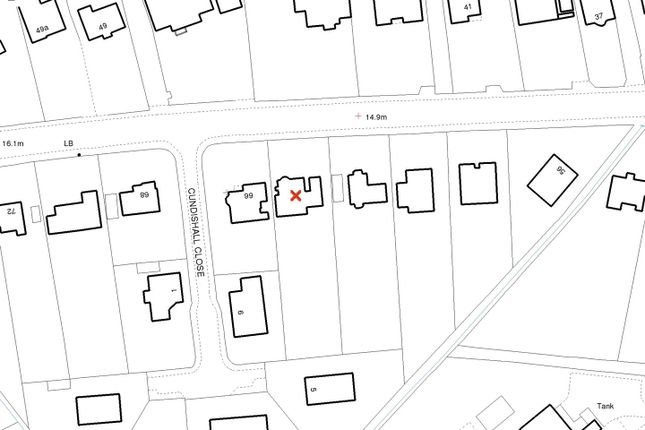 Site Plan of Joy Lane, Seasalter, Whitstable CT5