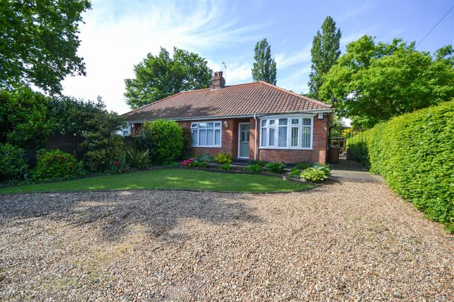 Thumbnail Semi-detached bungalow for sale in Church Lane, Sprowston, Norwich