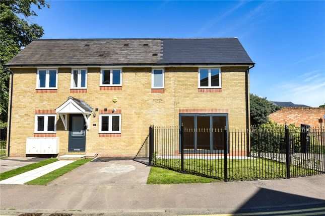 Thumbnail End terrace house for sale in High Street, Harefield, Uxbridge, Middlesex