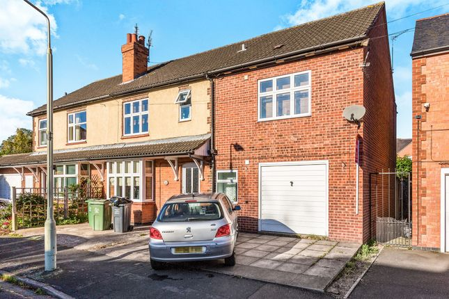 Thumbnail Semi-detached house for sale in Oliver Road, Loughborough