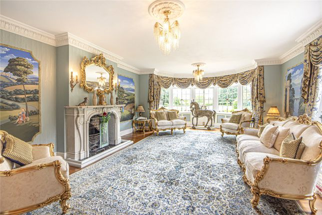 Drawing Room of Outwood Lane, Kingswood, Tadworth, Surrey KT20
