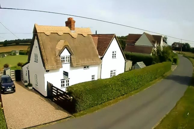 Thumbnail Cottage for sale in The Green, Little Thurlow, Haverhill