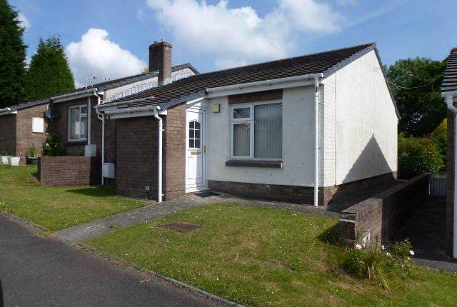 Thumbnail Semi-detached bungalow to rent in Brynderi, Pontyates, Llanelli