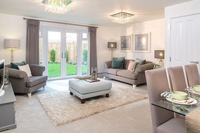 "Thumbnail Semi-detached house for sale in ""Wilford"" at Fleckney Road, Kibworth, Leicester"
