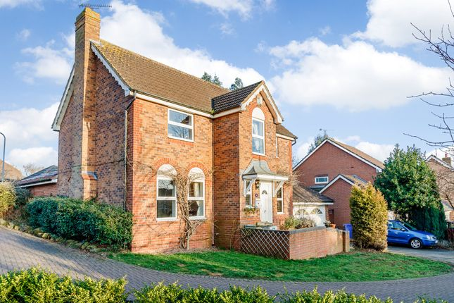 Thumbnail Detached house for sale in Merton Close, Brackley