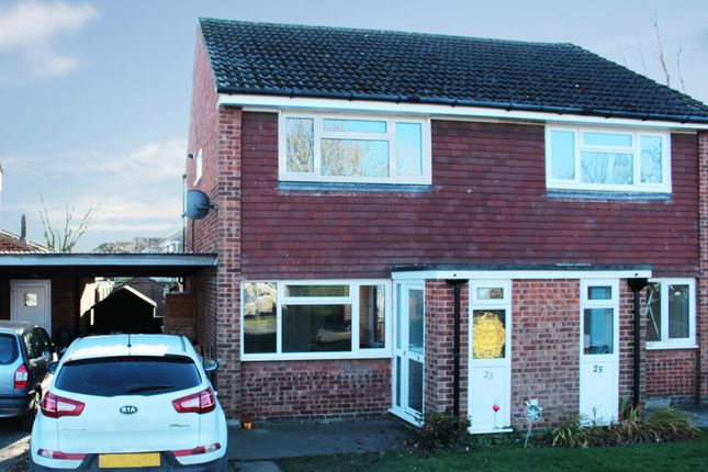 Thumbnail Semi-detached house for sale in Dentdale Drive, Knaresborough, North Yorkshire