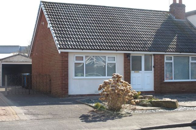 Thumbnail Semi-detached bungalow to rent in Ash Drive, Warton