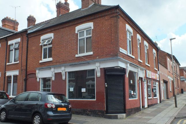 Thumbnail Retail premises for sale in Berners Street, Highfields, Leicester