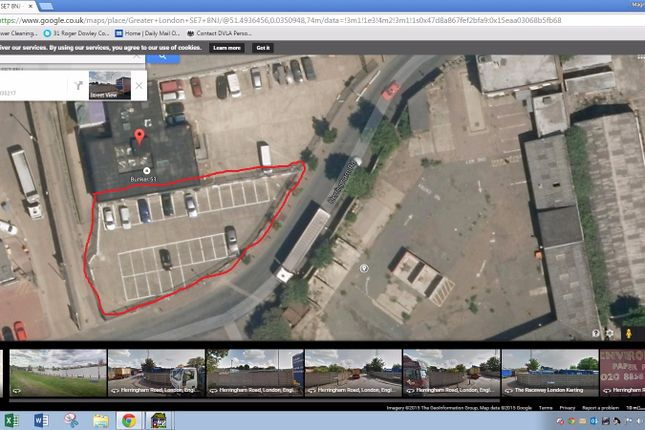 Thumbnail Parking/garage to let in Herringham Road, Charlton, London