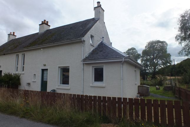 Thumbnail Semi-detached house to rent in Scaniport, Inverness