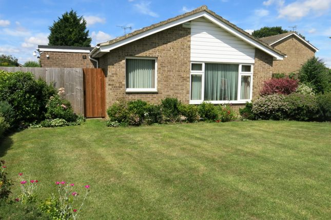 Thumbnail Detached bungalow for sale in Yew Tree Walk, Longthorpe, Peterborough