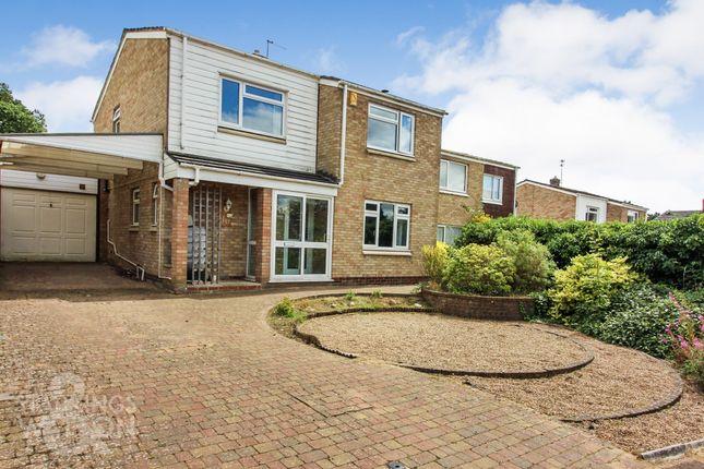 Thumbnail Detached house for sale in Dryden Road, Taverham, Norwich