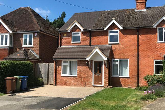 Thumbnail Semi-detached house for sale in The Broadway, Sandhurst
