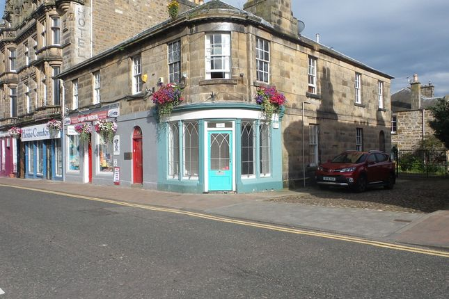 Retail premises to let in High Street, Forres