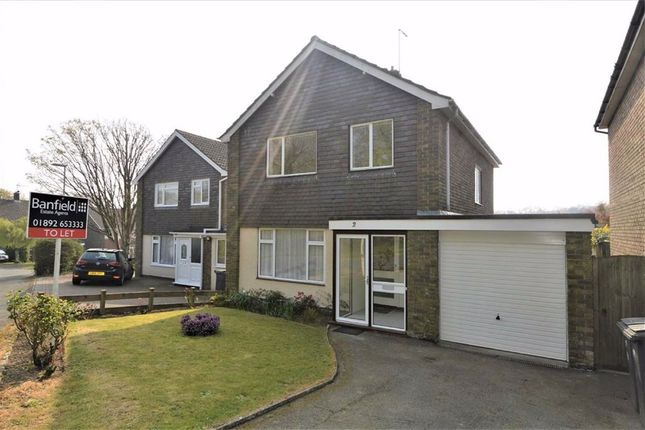 Thumbnail Detached house to rent in Sefton Way, Crowborough