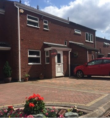 Thumbnail Town house for sale in Clift Close Short Heath, West Midlands, Willenhall