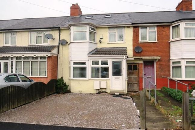 Thumbnail Terraced house for sale in Nansen Road, Birmingham