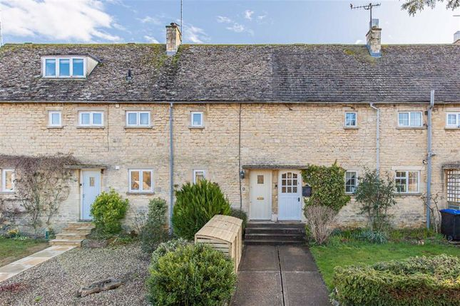 Thumbnail Terraced house for sale in Windrush Close, Burford, Oxfordshire