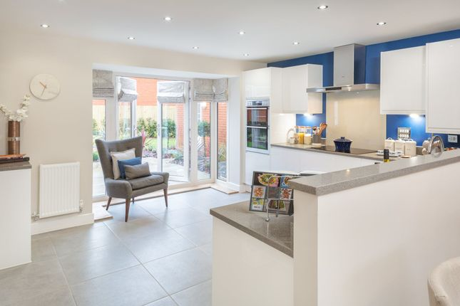 """Thumbnail Detached house for sale in """"Layton"""" at Blackberry, London Road, Cirencester"""