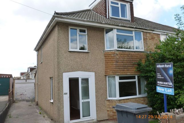 Thumbnail Semi-detached house to rent in Milton Road, Yate, Bristol