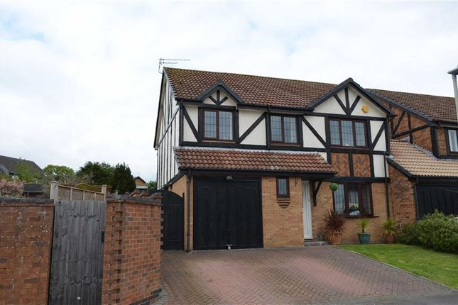 Thumbnail Detached house for sale in Measham Way, Lower Earley, Reading
