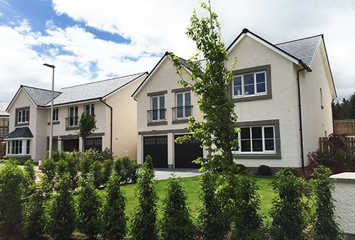 "Thumbnail Detached house for sale in ""Malborough"" at Crathes, Banchory"