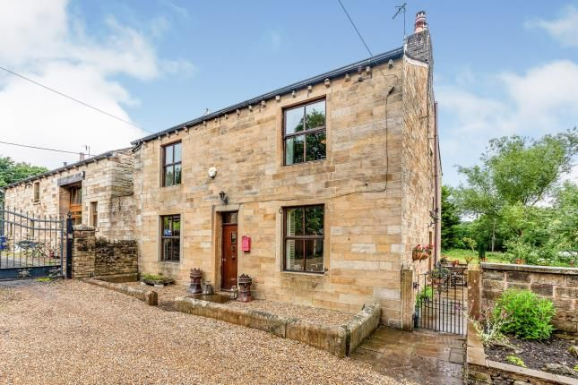 Thumbnail Detached house for sale in Greenhead Lane, Reedley, Burnley, Lancashire