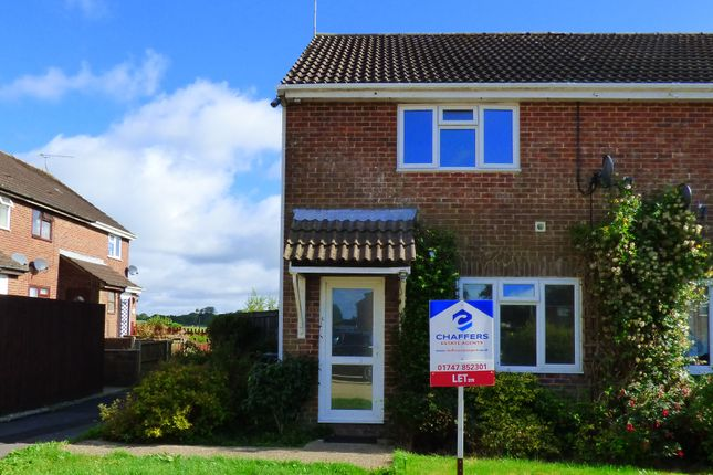 Thumbnail Semi-detached house to rent in Blackmore Road, Shaftesbury