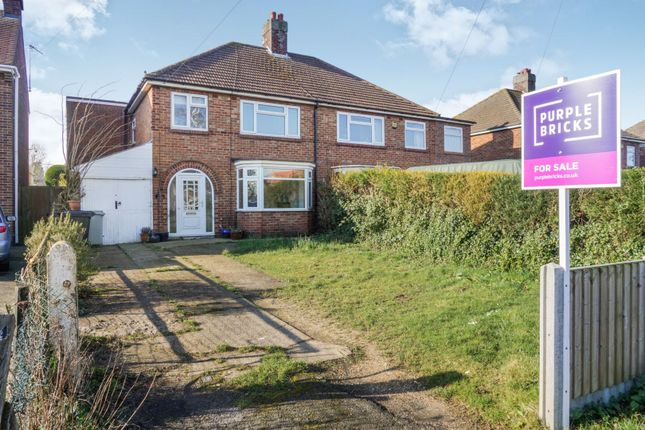 Thumbnail 4 bed semi-detached house for sale in Legbourne Road, Louth