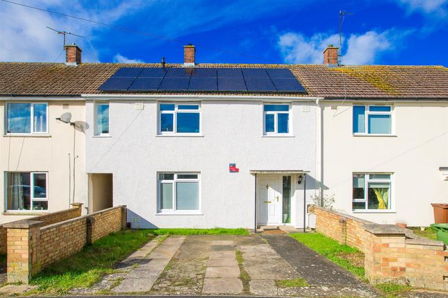 Thumbnail Terraced house for sale in Chelveston Drive, Corby
