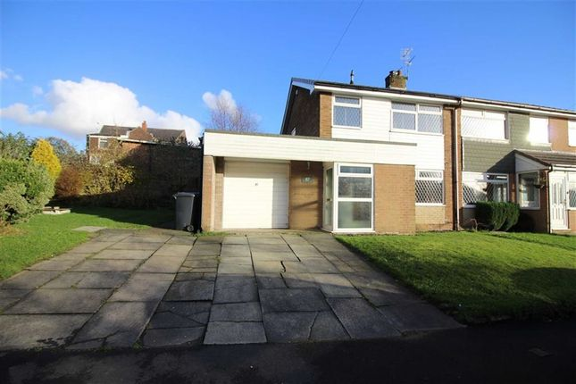 Thumbnail Semi-detached house to rent in Ribble Drive, Bury