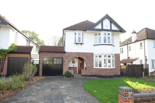 Thumbnail Detached house to rent in Kingsway, Petts Wood, Orpington, Kent