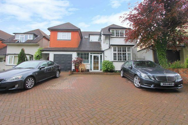 Thumbnail Detached house for sale in Boundary Road, Wallington