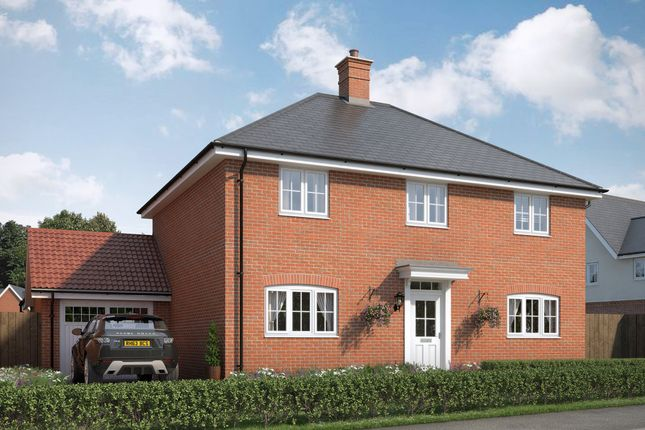 Thumbnail Detached house for sale in The Sanderling At Countryside At Chesterwell, Mile End, Colchester, Essex
