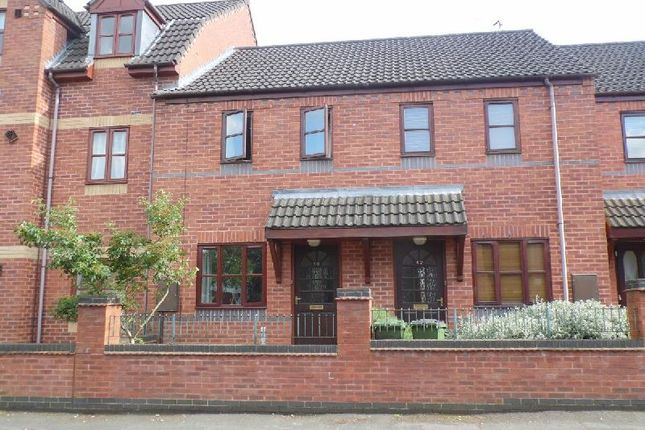 Thumbnail Terraced house to rent in Auburn Road, Blaby, Leicester